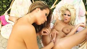 Clara G - Peaches lesbian going knuckle deep by FistFlush