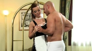 Cougar Cindy Dollar Takes Lengthy Schlong From Behind