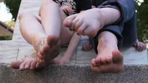 Messy Feet in The Playground BST