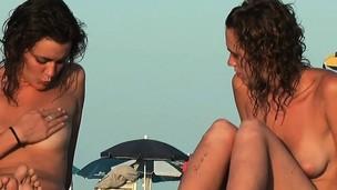 naturist beach voyeur vid with amazing naturist teens