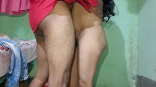 Romance with a molten Indian Bengali chick with a sexy figure