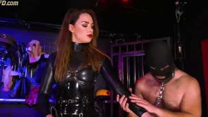 Femdom and her basement