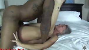 Super Cuckold Hotwife &,  Her buddy get 3 Big black cock Nuts in a Day 2