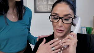 Diana Grace and Sheena Ryder at the Office