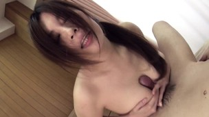 Wife getting bitchy hard after her titty fuck session